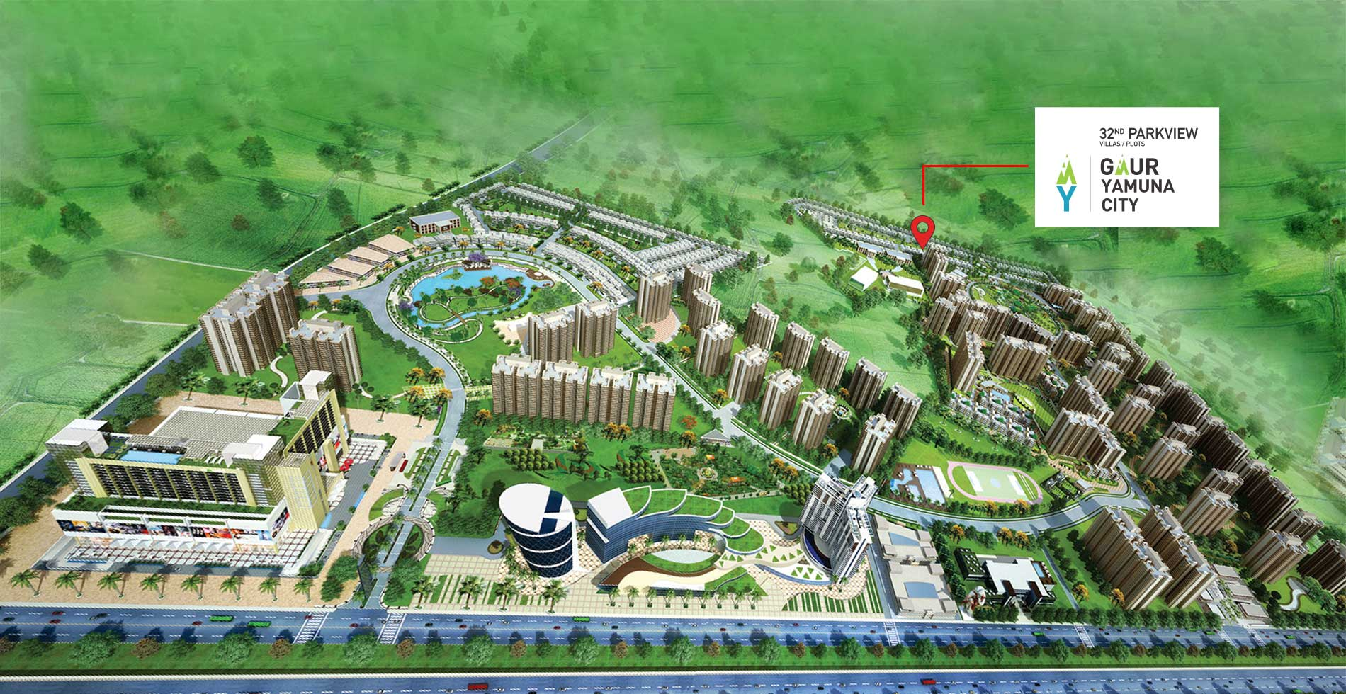 Gaur Yamuna City 32nd Parkview