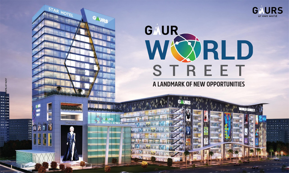 Gaur World Street,  Noida Extension